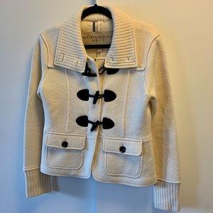 Ivory Burberry Coat